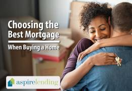 choosing the best mortgage